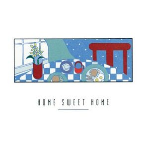 "Home Sweet Home Everyday Blank Note Card (3 1/2""x5"")"