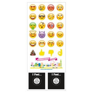 "Emoji Mood Magnet (0.02"" Thickness)"