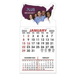 Stick It Decal 3 Month Calendar Pads - United States