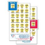 Custom Smiley Faces Mood Magnet (0.02