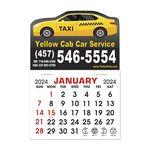 Custom Stick It Calendar Pads - Car Magnet