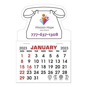 Stick It Magnet 1 Month Calendar Pads - Telephone