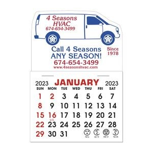Stick It Decal 1 Month Calendar Pads - Van