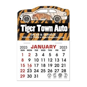 Stick It Decal 1 Month Calendar Pads - Car