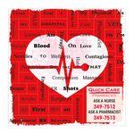 Custom Heart Health Message Magnets