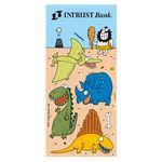 Custom Charlie Cartoon Sticker Sheet w/ Caveman & Dinosaurs