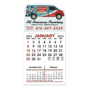 Stick It Decal 3 Month Calendar Pads - Van