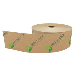 "Water-Activated, Reinforced Box Tape (2 3/4""x450')"