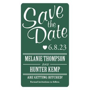 "Save The Date Rectangle Magnets (2""x3 1/2"")"