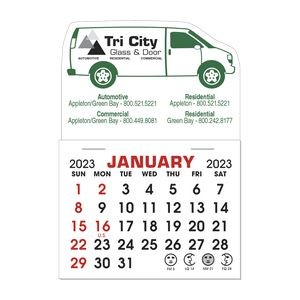 Stick It Magnet 1 Month Calendar Pads - Van