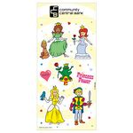 Custom Princess Fun & Fantasy Sticker Sheet