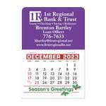 Custom Stick It Calendar Pads - Rectangle w/Rounded Corner Decal
