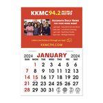 Custom Stick It Calendar Pads - Rectangle with Square Corners Magnet
