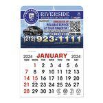 Custom Stick It Calendar Pads - Rectangle w/Rounded Corner Magnet