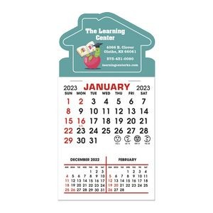 Stick It Decal 3 Month Calendar Pads - House