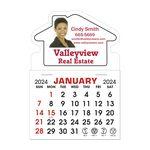 Custom Stick It Calendar Pads - House Decal