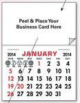 Custom Add Your Card Decal Calendar Pads