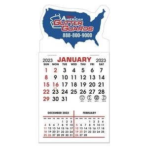 Stick It Magnet 3 Month Calendar Pads - United States