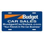 Custom Auto Card Poly Coated Card Stock License Plate (6