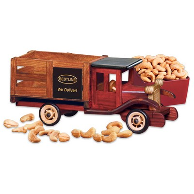 Classic 1925 Stake Truck with Extra Fancy Jumbo Cashews