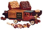 Custom Classic 1925 Stake Truck with Cashews & Chocolate Almonds