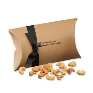 Extra Fancy Jumbo Cashews in Kraft Pillow Pack Box