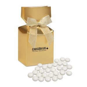 Chocolate Gourmet Mints in Gold Gift Box