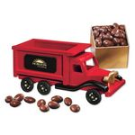 Custom 1950-Era Dump Truck with Chocolate Covered Almonds