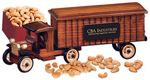 Custom 1930-Era Tractor-Trailer Truck with Jumbo Cashews