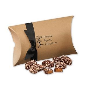 English Butter Toffee in Kraft Pillow Pack Box