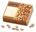Custom Walnut Post-it Note Holder with Choice Virginia Peanuts