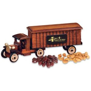 1930-Era Tractor-Trailer with Chocolate Almonds & Cashews