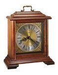 Custom Howard Miller Medford Cherry Finish Dual Chime Mantel Clock