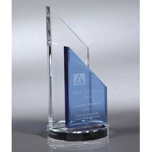 Howard Miller Sierra - Medium optical crystal award