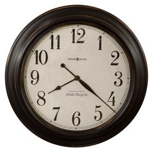 Howard Miller Ashby round gallery wall clock