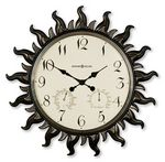 Custom Howard Miller Sunburst II Indoor/Outdoor Wall Clock
