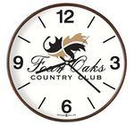 Custom Howard Miller Kenton wall clock (full color dial)
