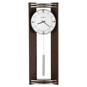Howard Miller Deco modern quartz wall clock