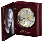 Custom Howard Miller Rosewood Hall Portrait Book Clock