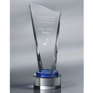 Howard Miller Acclaim - Medium optical crystal award