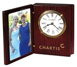 Custom Howard Miller Rosewood Hall Portrait Book II Clock