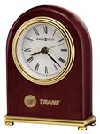 Custom Howard Miller Gloss Rosewood Arch Clock w/ Brass Feet