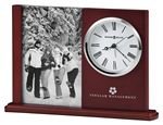 Custom Howard Miller Portrait Caddy II clock and picture frame set