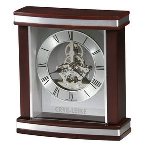 Howard Miller Templeton Rosewood Clock w/Skeleton Movement
