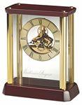 Custom Howard Miller Kingston carriage clock with skeleton movement