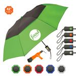 Custom The Vented Graphite Crown Umbrella
