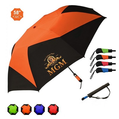The Vented Pinwheel Umbrella