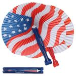 Custom Patriotic Folding Fan