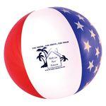 Custom American Flag Beach Ball