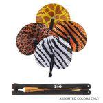Custom Safari Folding Fan